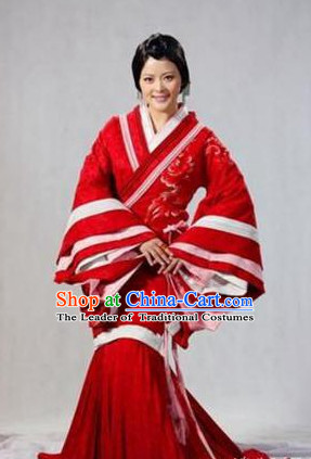 China Ancient Princess Costume Complete Set for Women