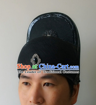 Ancient Chinese Official Black Hat