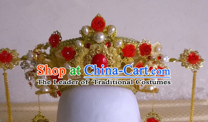 Ancient Chinese Wedding Headpieces