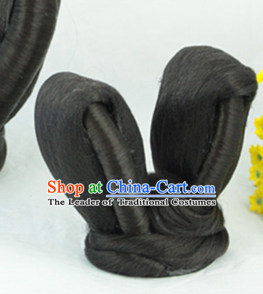 Ancient Chinese Lady Black Hair Extensions