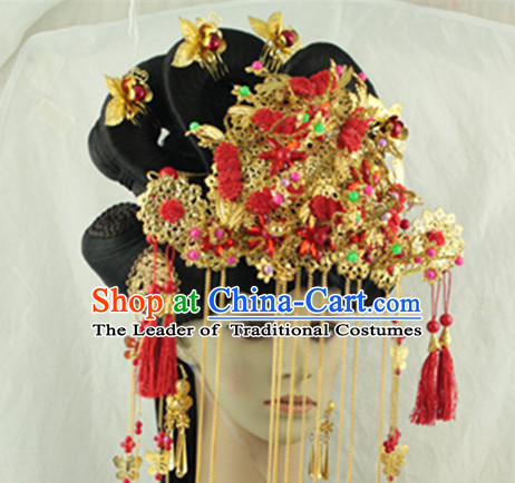 Ancient Chinese Lady Wedding Headpieces Hat