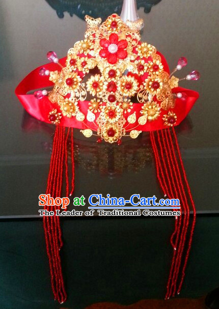 Ancient Chinese Wedding Phoenix Crown Hair Jewelry