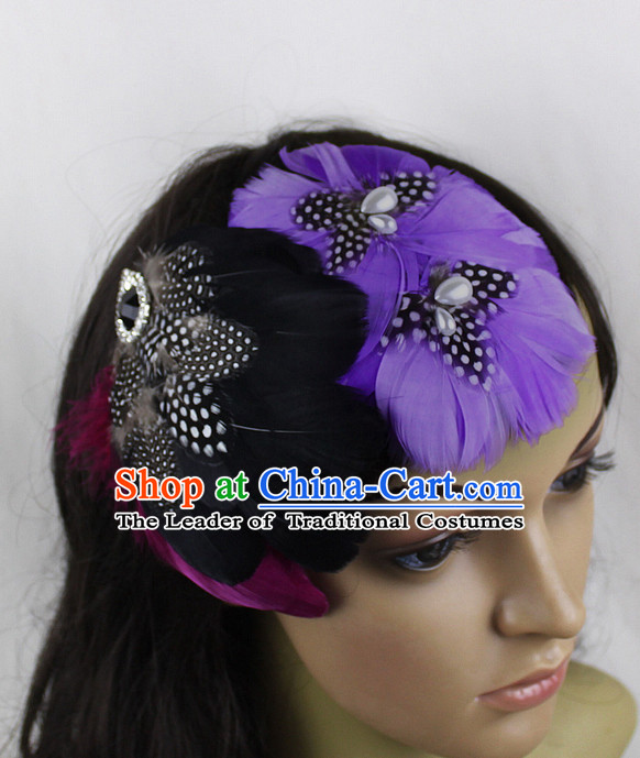 Made to Order Handmade Chinese Feather Hairpieces