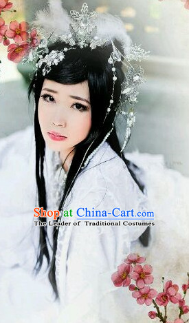 Chinese Classic Fairy Wigs and Hairpieces