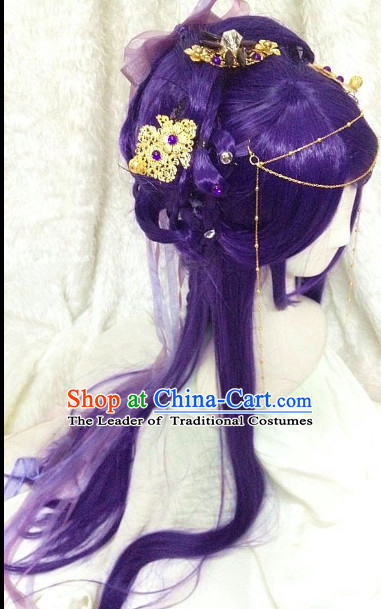 Chinese Classical Fairy Wigs and Hairpieces