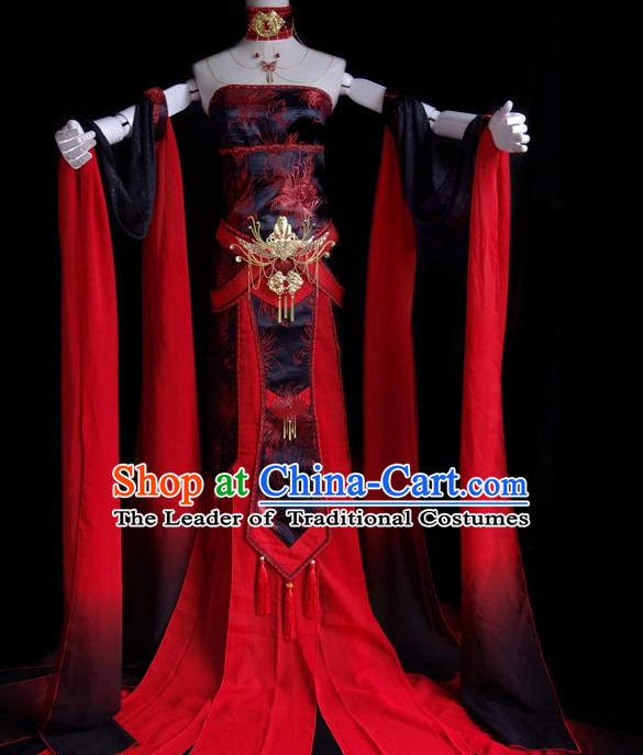 Asian Chinese Fairy Halloween Costumes Complete Set