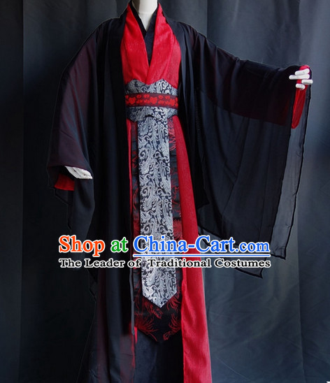 Asian Chinese Hanfu Costumes Complete Set