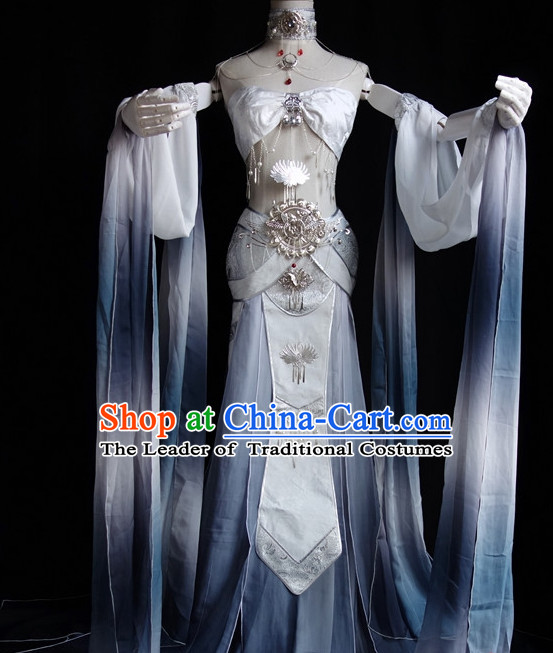 Asian Chinese Fairy Hanfu Costumes Complete Set