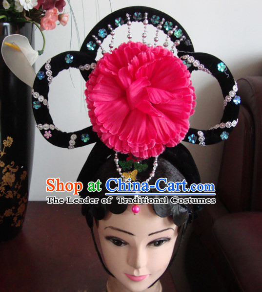 Handmade Ancient Chinese Hairstyles for Classical Dancing