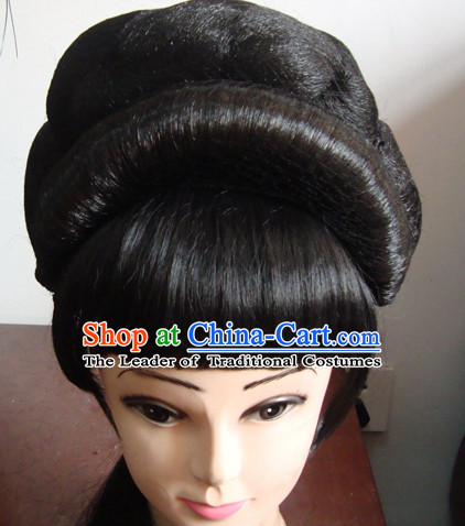 Handmade Chinese Shaosing Opera Hairstyles Fascinators Fascinator Wholesale Jewelry Hair Pieces and Wigs