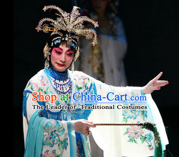 Chinese Opera Theatrical Performances Empress Phoenix Hairstyles Fascinators Fascinator Wholesale Jewelry Hair Pieces and Black Long Wigs