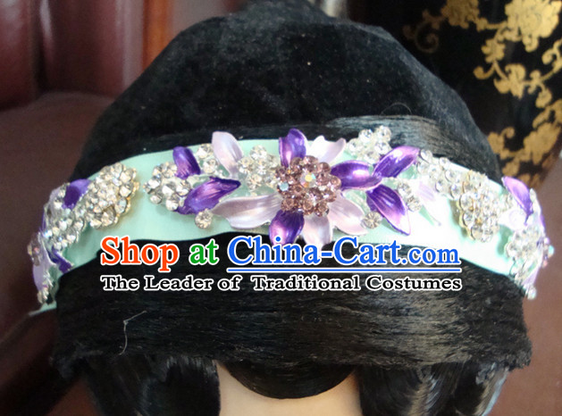 Chinese Opera Theatrical Performances Fascinators Fascinator Wholesale Jewelry Hair Pieces