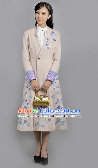 Chinese Minguo Female Clothing Traditional Clothes Suit