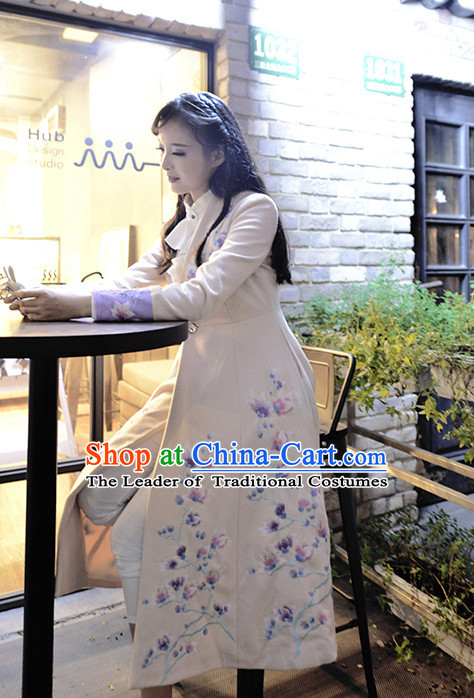 Chinese Minguo Time Female Clothing Traditional Clothes Suit