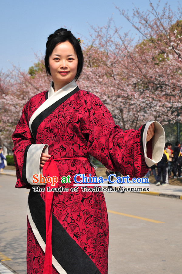 Chinese Noblewoman Han Fu Costumes Dresses online Designer Halloween Costume Wedding Gowns Dance Costumes Superhero Costumes Cosplay for Women