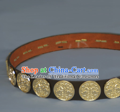 Chinese Ancient Handmade Feather Belt