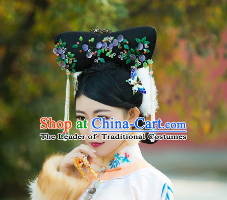 Chinese Ancient Qing Dynasty Hair Jewelry