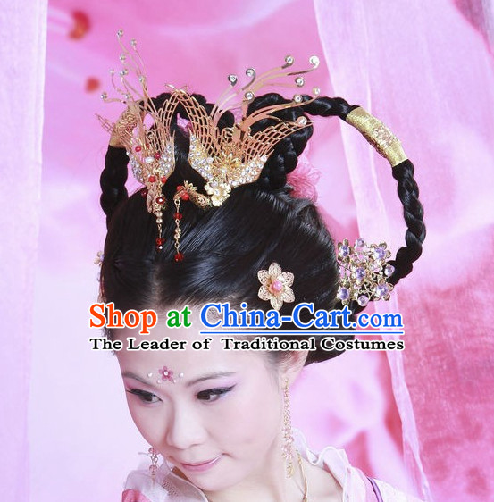 Chinese Ancient Princess Wigs and Hair Accessories Hair Pieces
