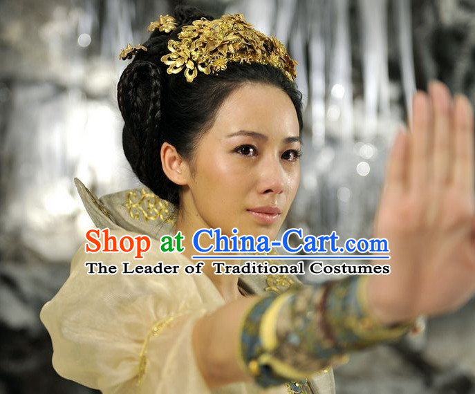 Chinese Princess Headpieces Handmade Hair Jewelry
