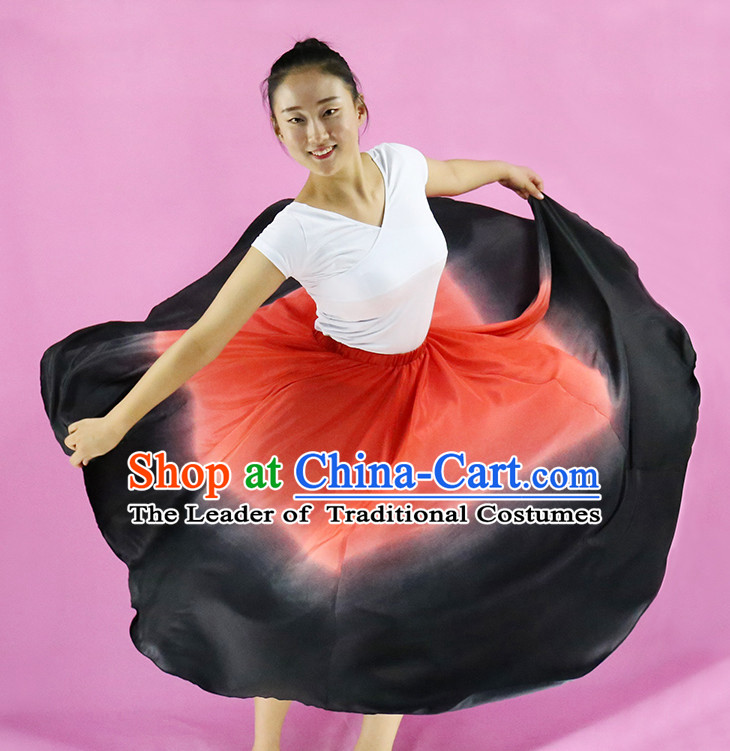 Chinese Ethnic Dance Costumes for Girls