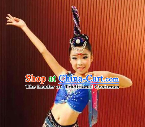 Chinese Fairy Headpieces for Children and Teenagers