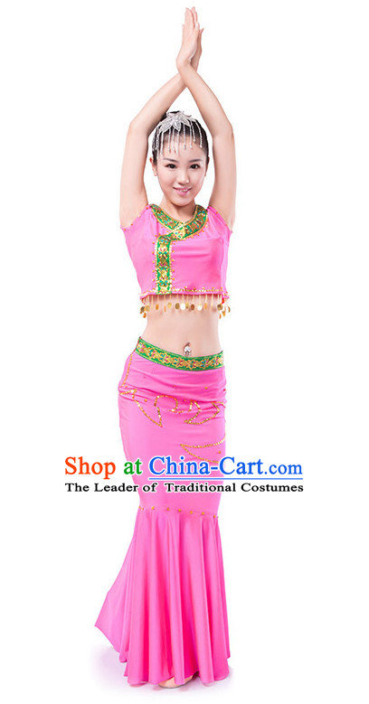 Chinese Dai Dance Costume Wholesale Clothing Discount Dance Costumes Dancewear Supply