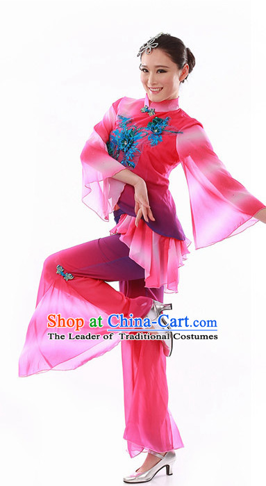 Chinese Folk Dance Costume Wholesale Clothing Discount Dance Costumes Dancewear Supply