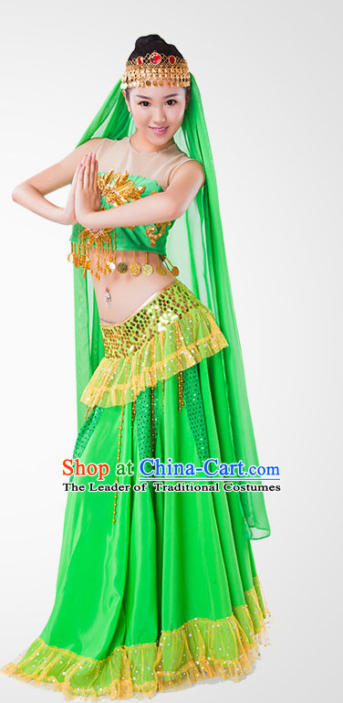 Indian Dance Costume Wholesale Clothing Discount Dance Costumes Dancewear Supply and Headpieces for Woman