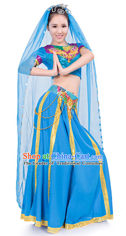 Indian Dance Costume Wholesale Clothing Discount Dance Costumes Dancewear Supply and Headpieces for Women