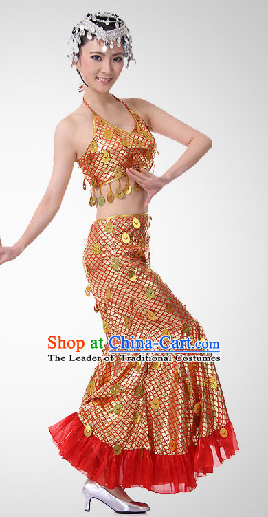 Chinese Folk Fish Dance Costume Wholesale Clothing Discount Dance Costumes Dancewear Supply for Women
