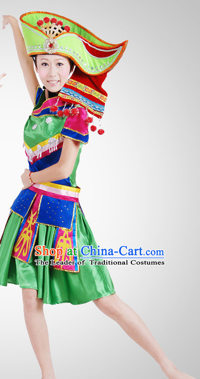 Chinese Folk Dance Costume Wholesale Clothing Discount Dance Costumes Dancewear Supply for Women