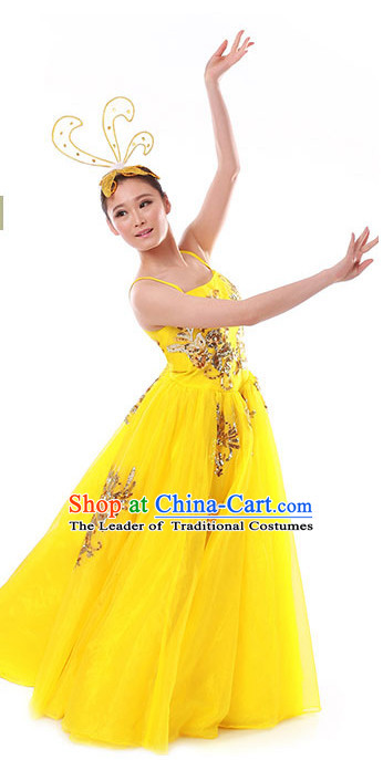 Chinese Modern Fan Dancing Clothes Costume Wholesale Clothing Group Dance Costumes Dancewear Supply for Girls