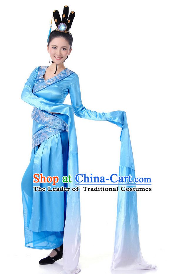 Chinese Long Sleeves Classic Dance Costume Wholesale Clothing Group Dance Costumes Dancewear Supply for Lady
