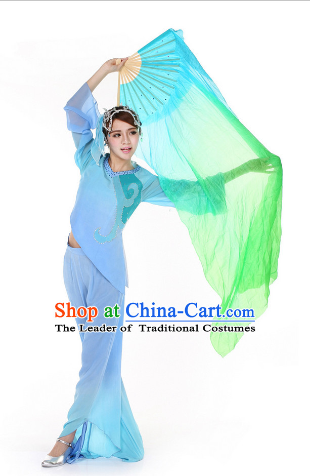 Pure Silk Chinese Dance Fan