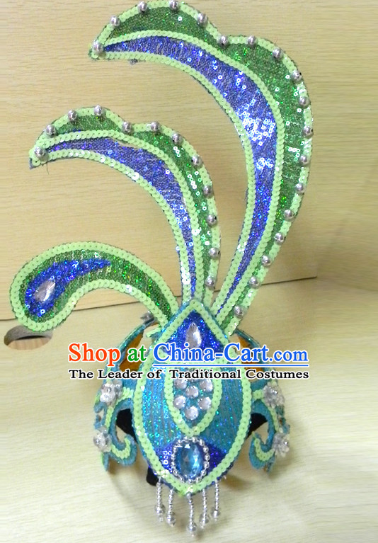 Chinese Classical Dance Headpieces for Children and Teenagers