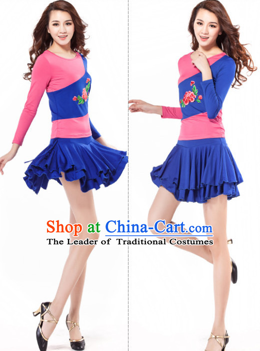 Asia Chinese Festival Parade Folk Stage Dance Costume for Women