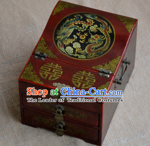 Archaize Chinese Ancient Style Drawing Making Up Palace Casket