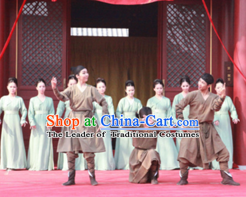 Ancient Chinese Shang Dynasty People Men Clothing Clothes Costume