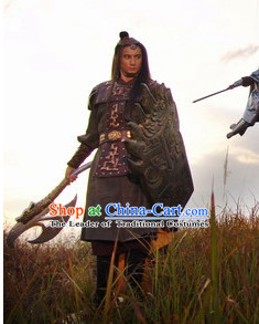 Chinese TV Drama General Warrior Costume for Men