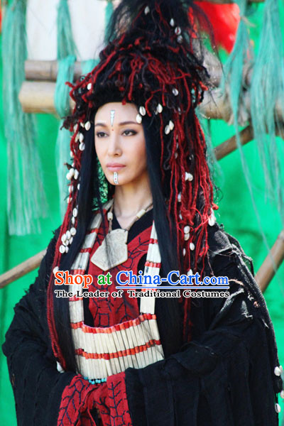 Xia Dynasty Priest Headwear Hair Accessories Hair Jewelry for Women