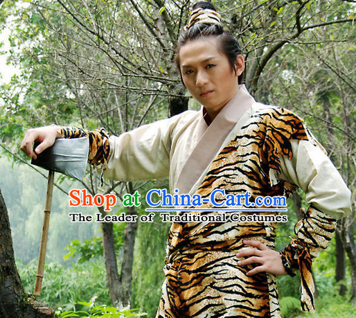 Xia Dynasty Houyi Mythological Chinese Archer Shenyi Yi Costume Ancient China Costumes