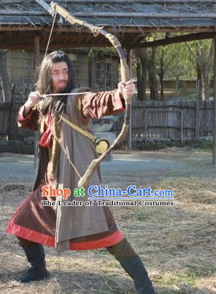 Ancient China Xia Dynasty Costumes Houyi Mythological Chinese Archer Costume