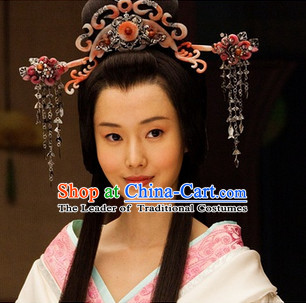 Eastern Zhou Dynasty Spring and Autumn Princess Hair Accessories Complete Set for Women