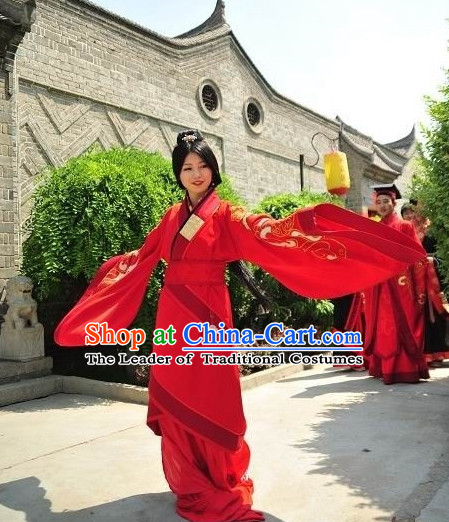Chinese Costume Period of the Northern and Southern Dynasties Chinese Classic Costumes National Garment Outfit Clothing Clothes for Women