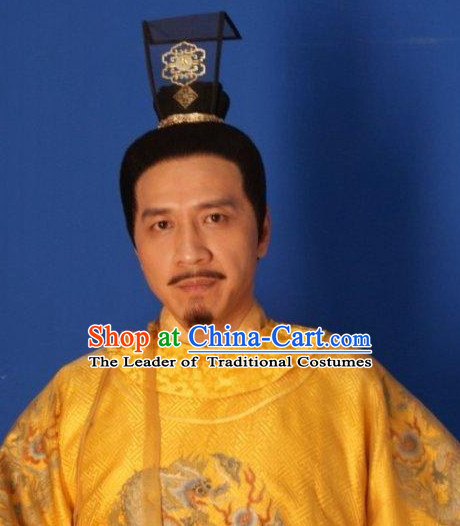 Chinese Ancient Palace Imperial Head Wear Headdress Crown