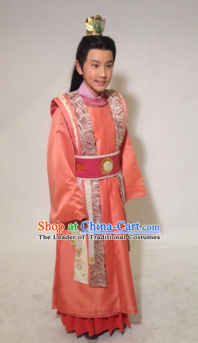 Tang Dynasty Chinese Imperial Prince Complete Set for Kids Boys