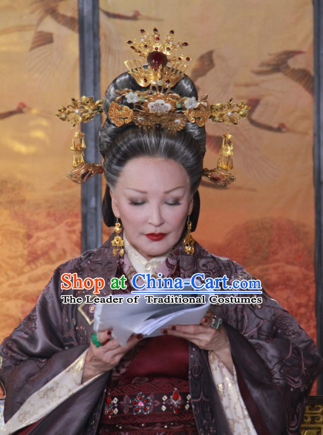Chinese Qin Dynasty Queen Hair Accessories for Women