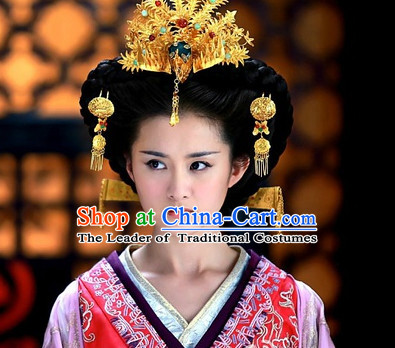 Chinese Qin Dynasty Empress Hair Accessories for Women