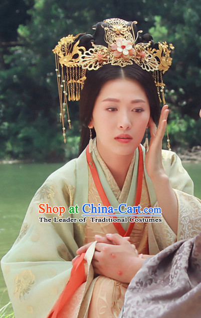 Chinese Qin Dynasty Princess Hair Accessories for Women