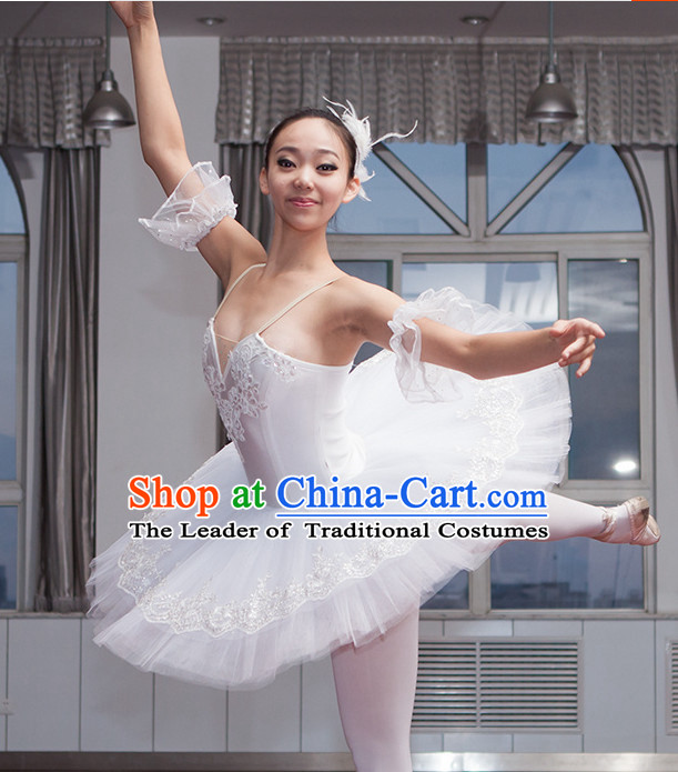 White Angel Ballet Costume Tutu Ballerina Dance Costumes Dancewear Dance Supply Tutus Free Custom Make Tu Tu